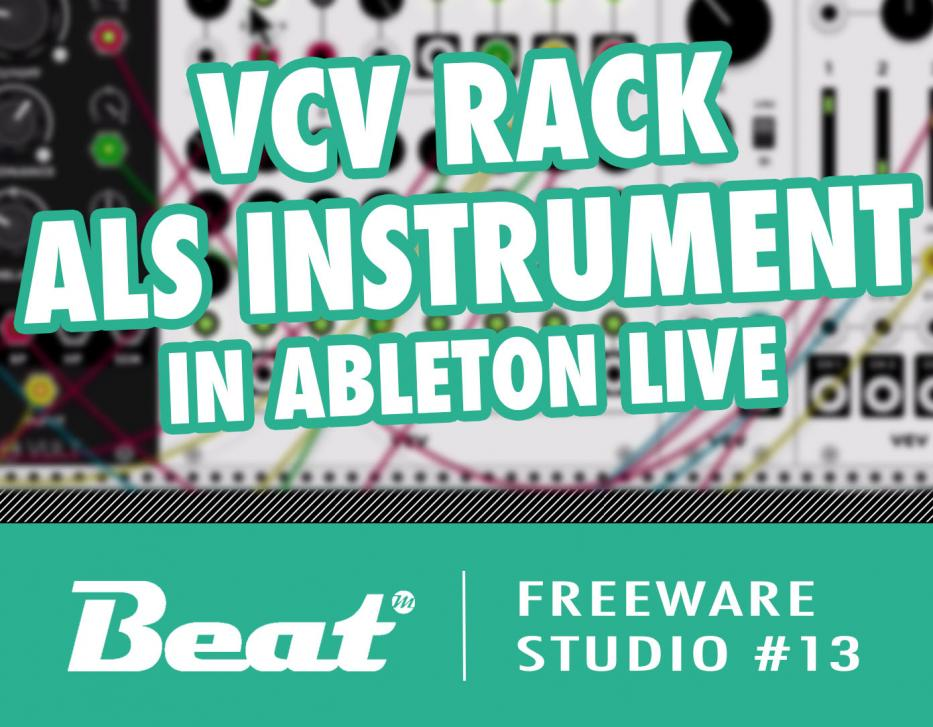 Video-Tutorial: VCV Rack als Instrument in Ableton Live