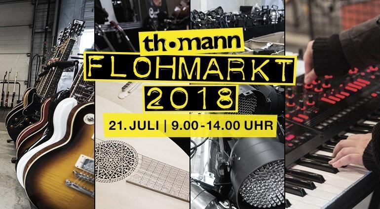 Thomann Flohmarkt 2018