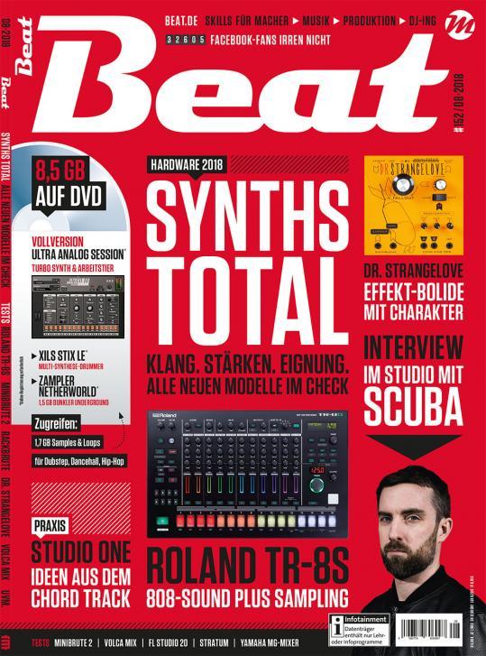 Die neue Beat 08 18