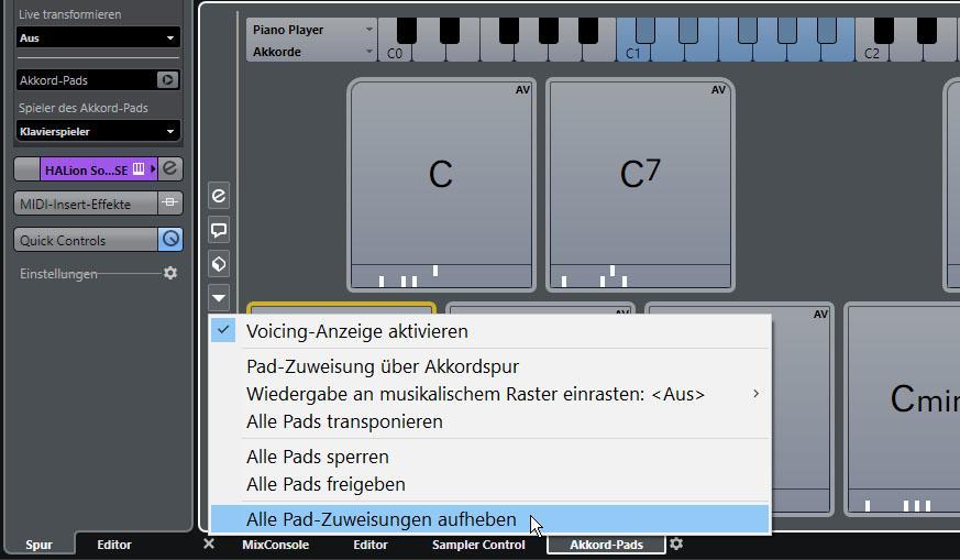 Schritt 3: Akkordspur erzeugen