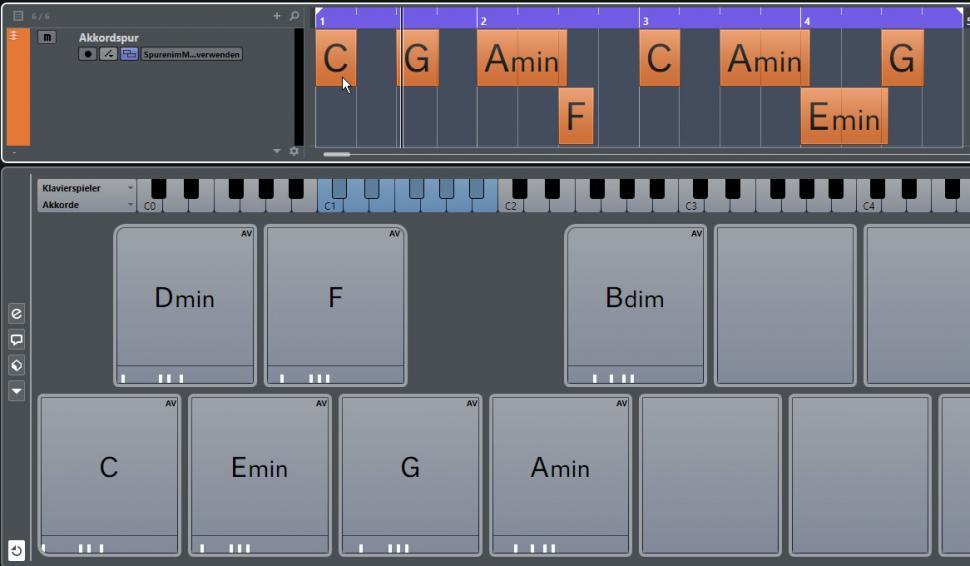 Schritt 5: Akkordprogression
