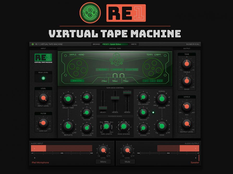 Numerical Audio RE-1 Virtual Tape Machine