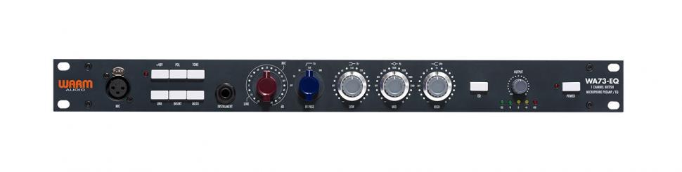 Dank des Line-Eingangs lassen sich auch Synthesizer und andere Klangerzeuger mit dem WA73-EQ anfetten.