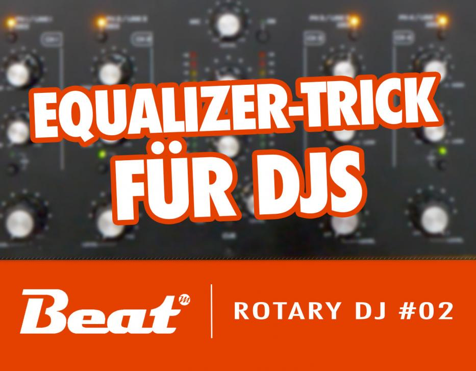 Video-Tutorial: Omnitronic TRM 402 - Equalizer-Trick für DJs
