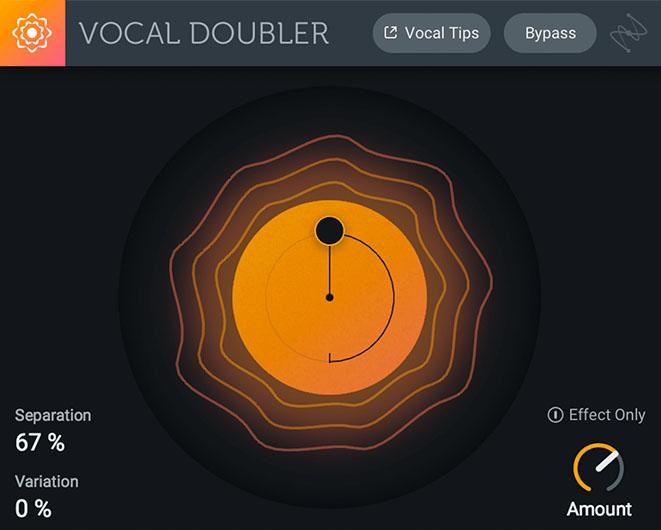 iZotope Vocal Doubler