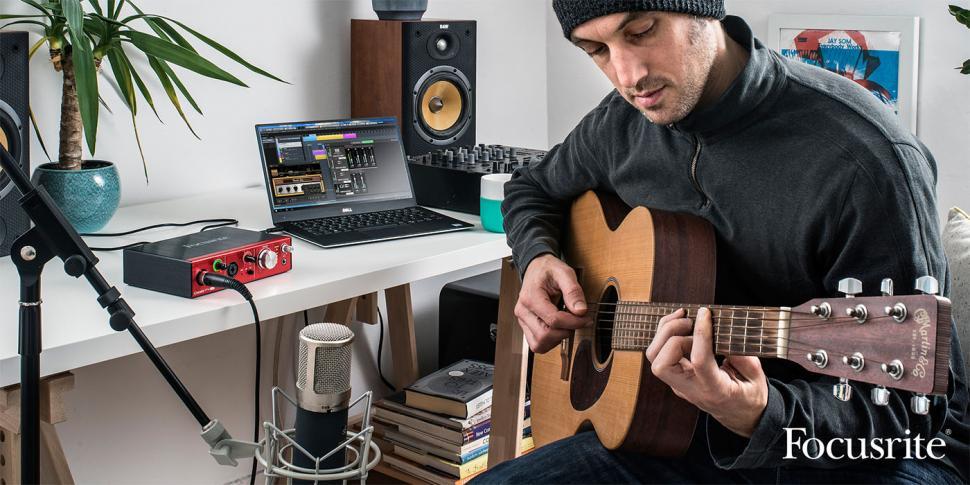 Focusrite Recording-Tour mit Dankmar Klein
