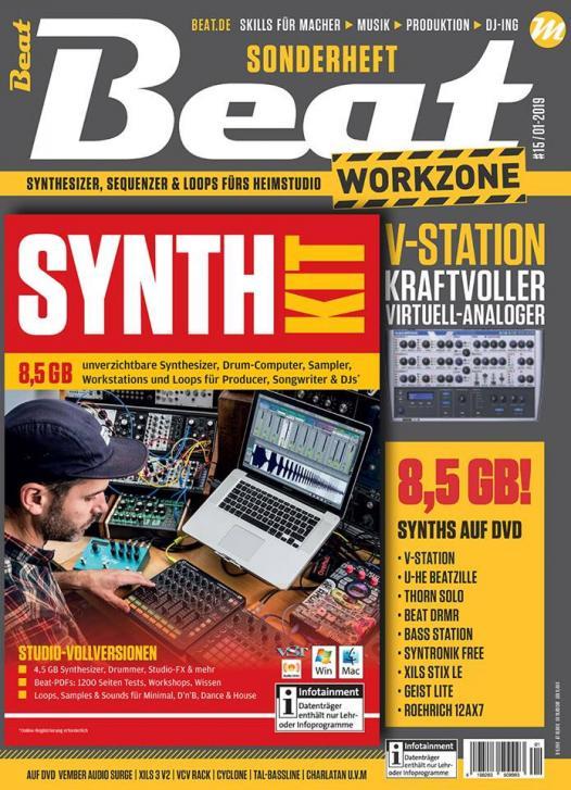 Jetzt erhältlich: Beat Workzone 01/19 – Synth Kit 2019