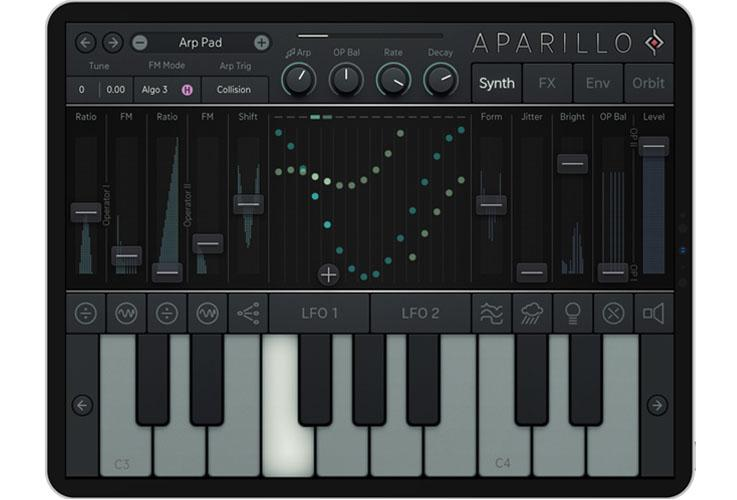 Sugar Bytes Aparillo for iPad: FM-Synthesizer für Klangforscher