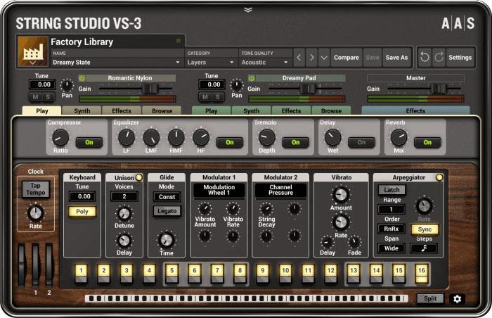 AAS String Studio VS-3: großes Update für den String-Synthesizer