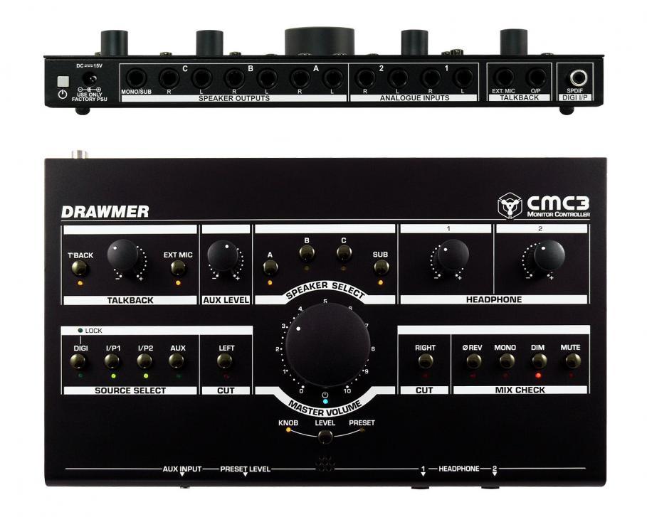 Drawmer CMC3 Monitor-Controller wird ausgeliefert