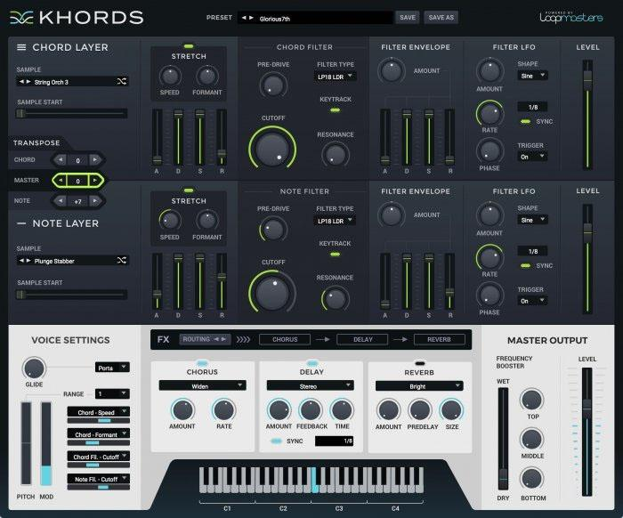 Loopmasters Khords: Spezial-Instrument für Chord-Sounds