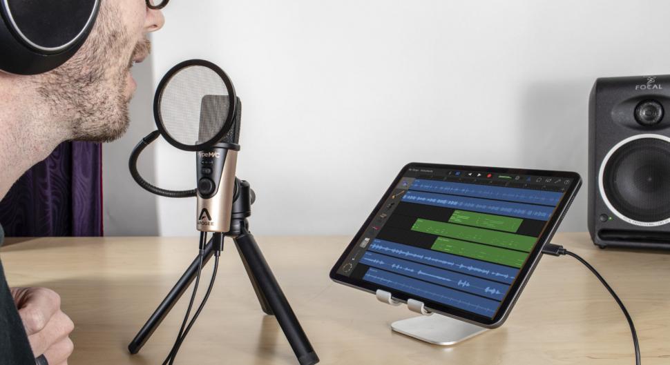 Apogee stellt das USB-Mikrofon Hype Mic vor