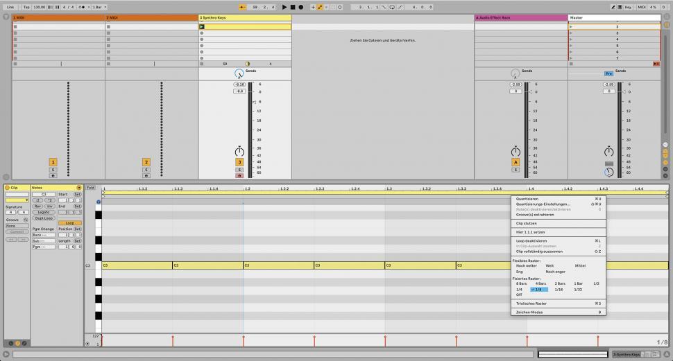 Schritt 1: Synth-Sound laden