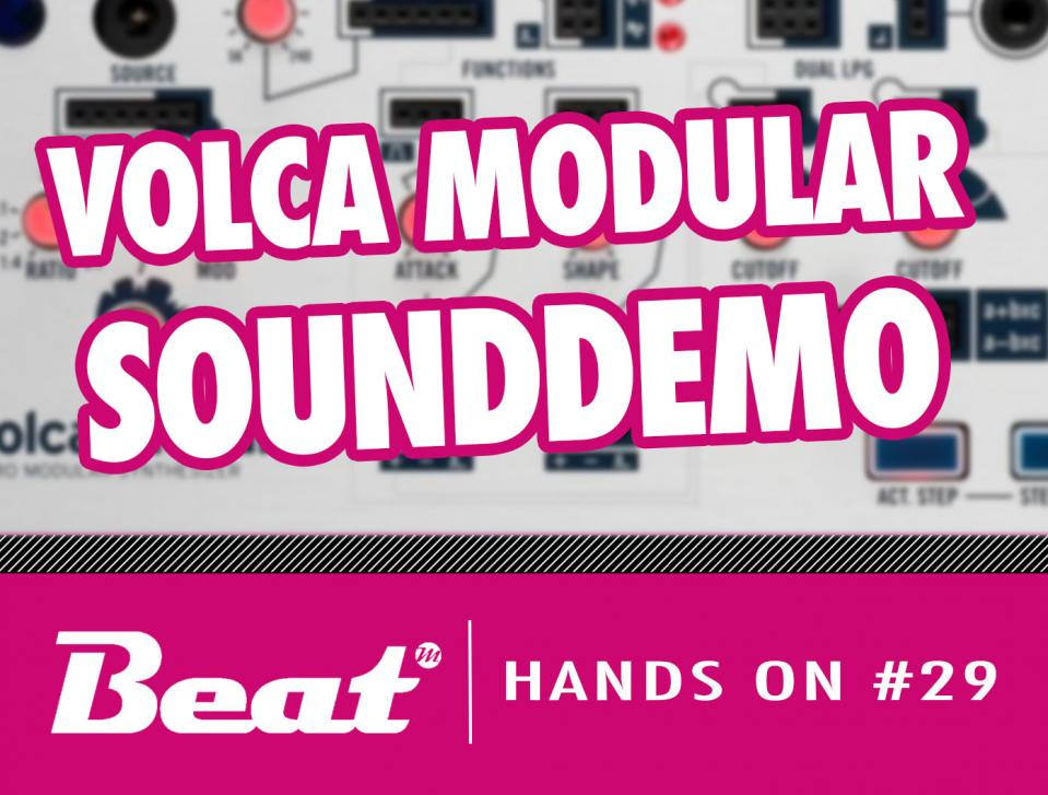 Video: Korg Volca Modular - Sounddemo des Mini-Synthesizers nach Buchla-Art