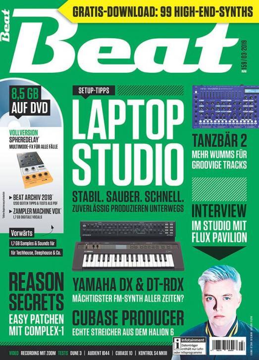 Die neue Beat 03|19 ist da: Laptop Studio – Stabil. Sauber. Schnell.