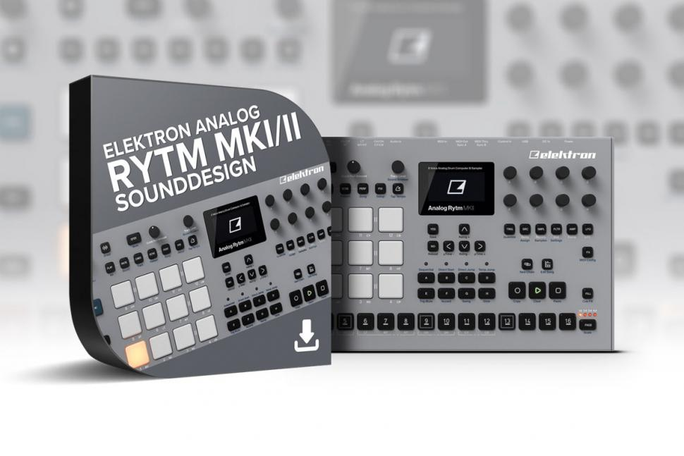 "7 Stunden Tutorial: ""Elektron Analog Rytm MK1/2 – Sounddesign"" erhältlich"