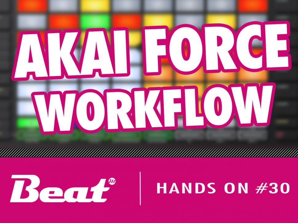 Video-Tutorial: Akai Force - Workflow im Check