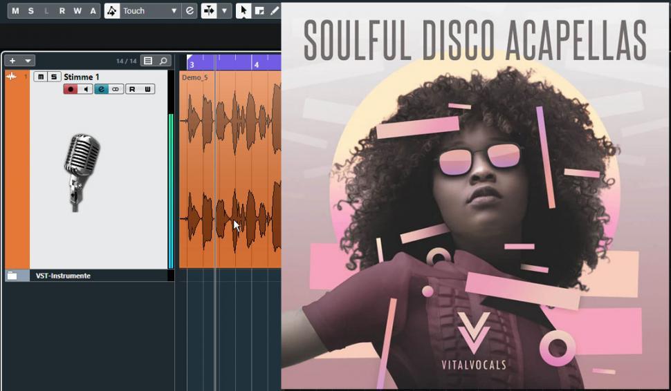 Schritt 1: Audiomaterial