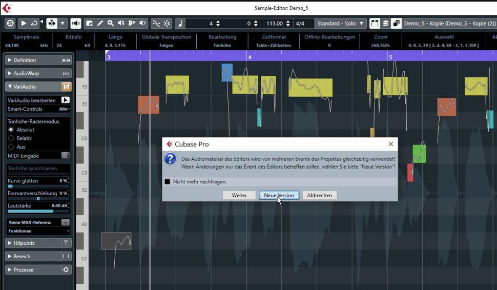 Schritt 4:Vocals duplizieren