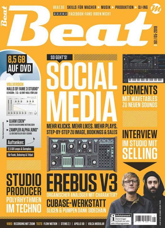 Die neue Beat 05|19 ist da: Social Media – Mehr Likes. Mehr Plays