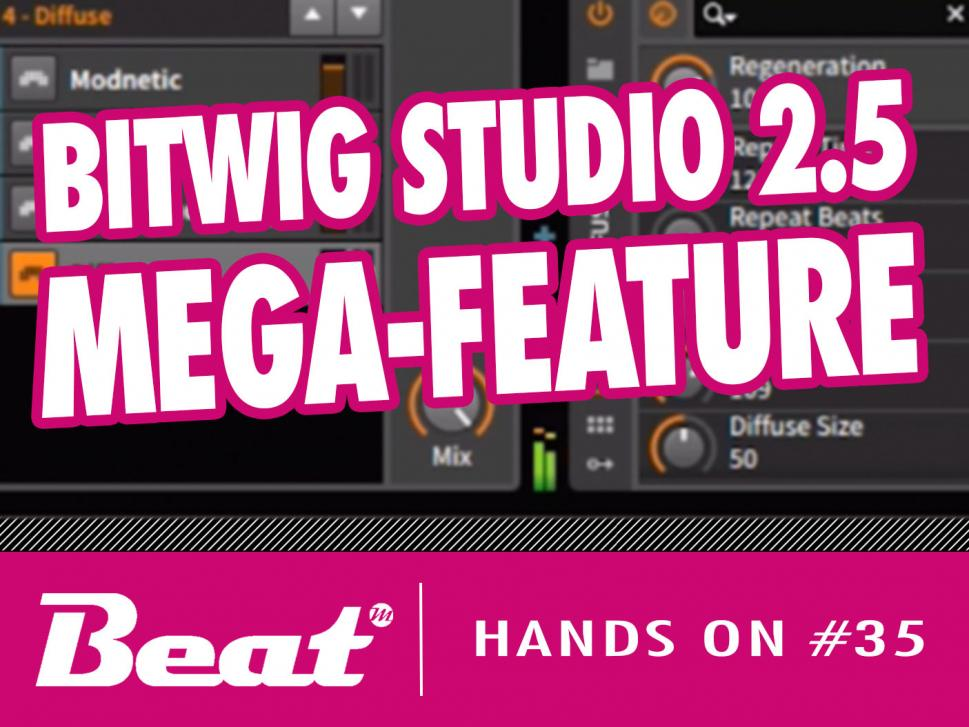 Video-Tutorial: Melodie-Generator in Bitwig Studio 2.5 selber bauen