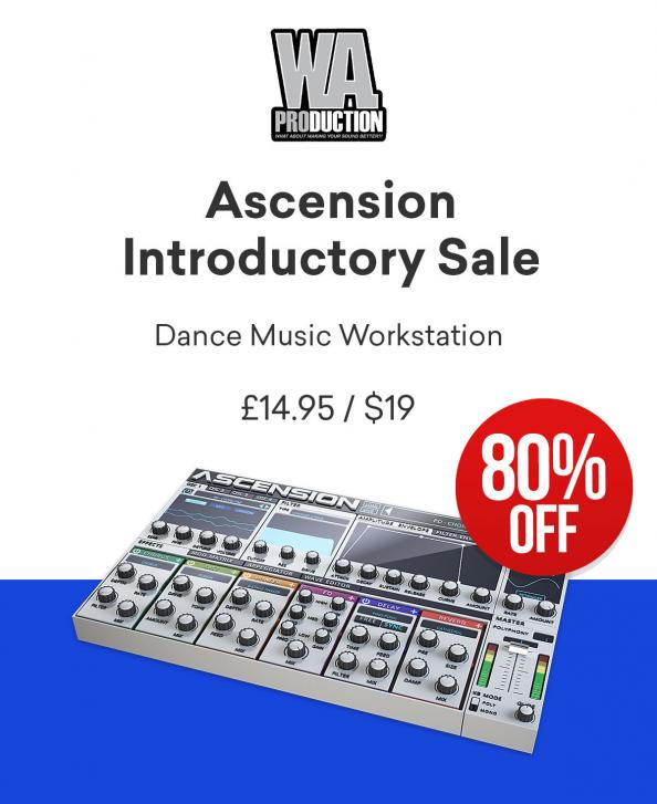 W.A. Production Ascension: richtig dicker Synth/Workstation für unter 20 Euro