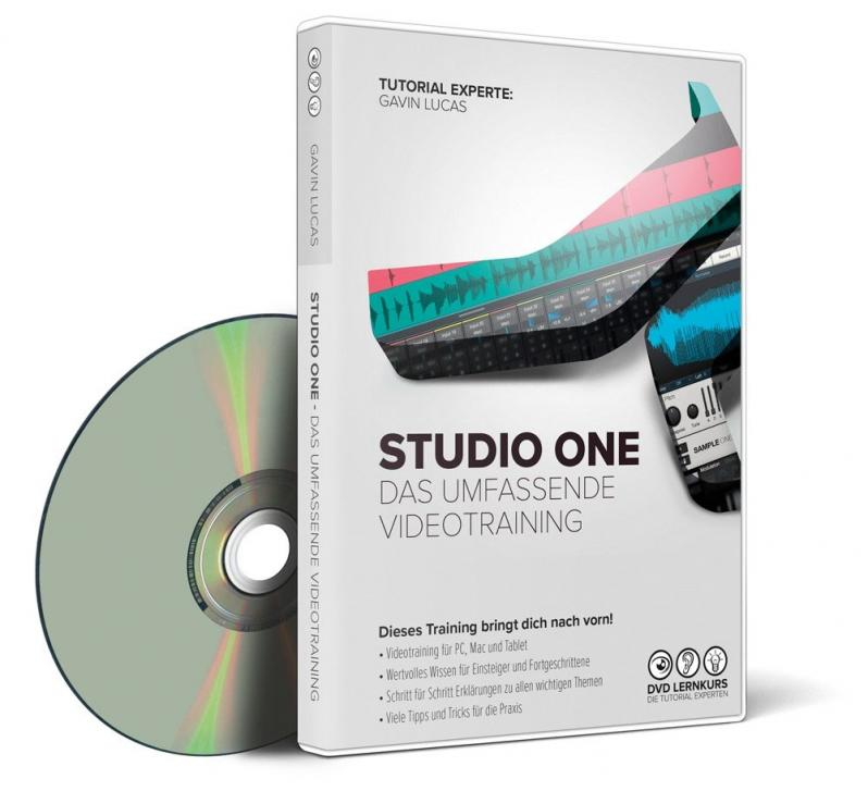 Presonus Studio One – das umfassende Videotraining