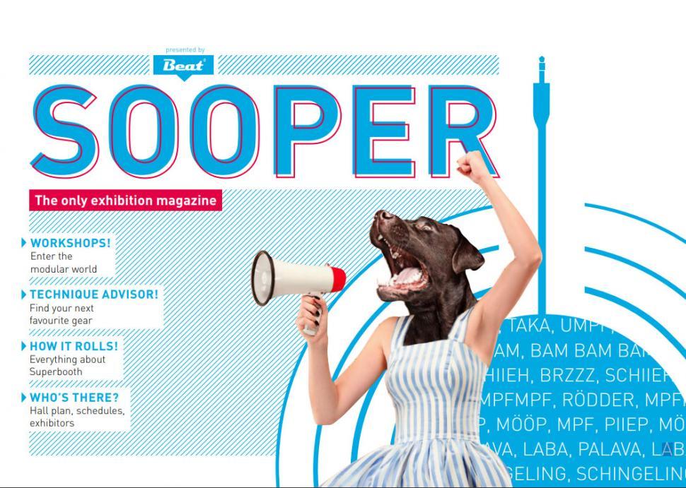 Jetzt zugreifen: SOOPER - das kostenlose Magazin für die SUPERBOOTH19