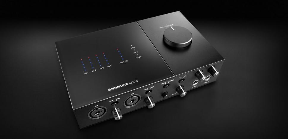 NI Komplete Audio 6: umfangreiches Audio-Interface für wenig Geld