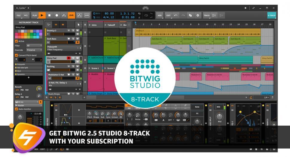 Bitwig 8-Track
