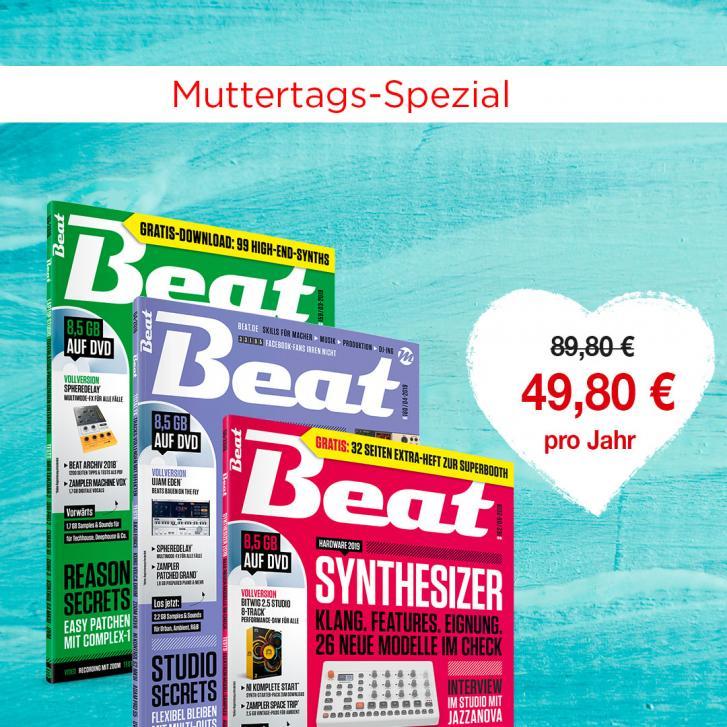 Beat-Abo abschließen und sparen!