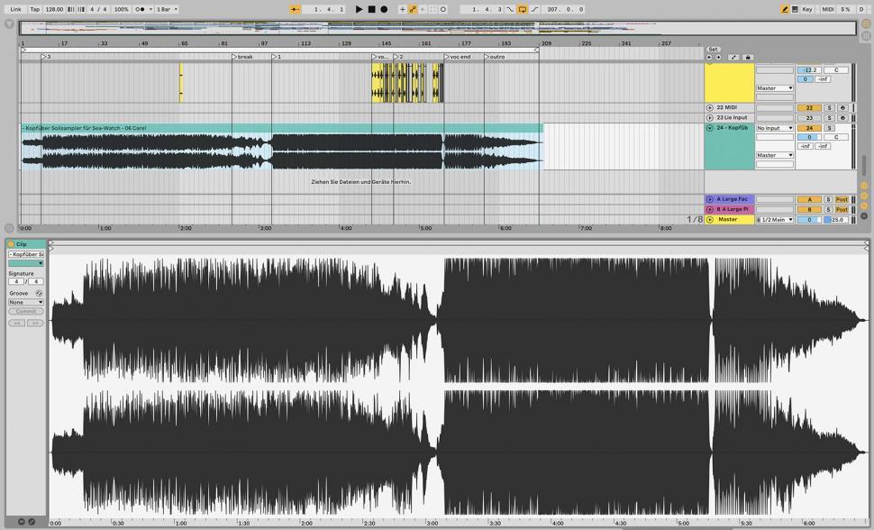 Schritt 1: Song-Dynamik variieren