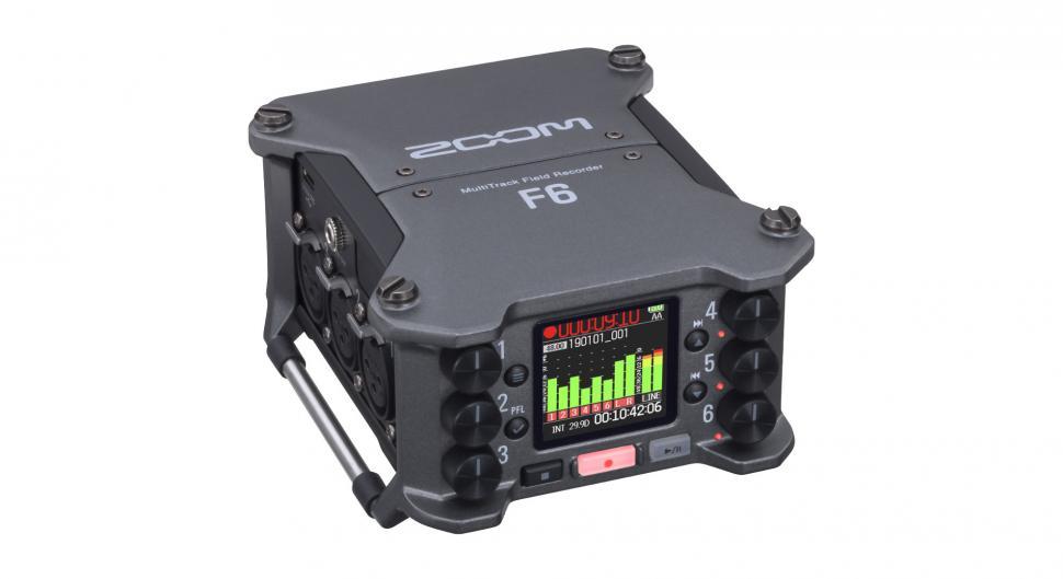 Zoom kündigt den F6 MultiTrack Field Recorder an