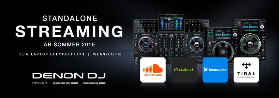 Denon DJ Streaming-Funktion wird kommen