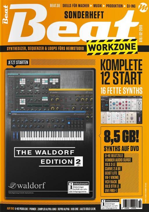 Jetzt erhältlich: Beat Workzone 02/19 – Synthesizer Total