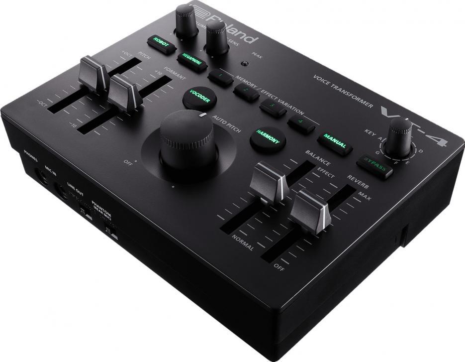 Neu hinzugekommen ist ein MIDI-Eingang, um mit einem Keyboard die passenden Noten für Autopitch, Vocoder und Harmony-Effekte zu spielen.