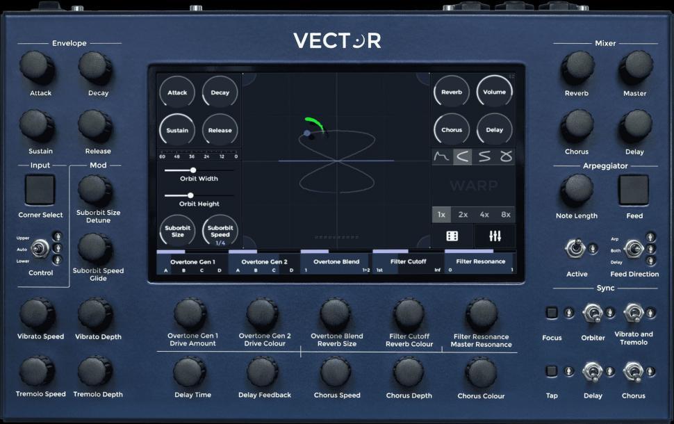 Klangerzeuger mit Vector-Synthese