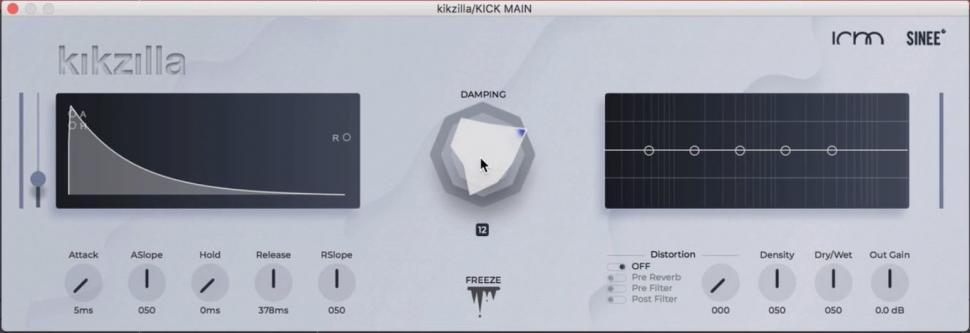 Plug-in für die Erstellung von Techno-Kickdrums
