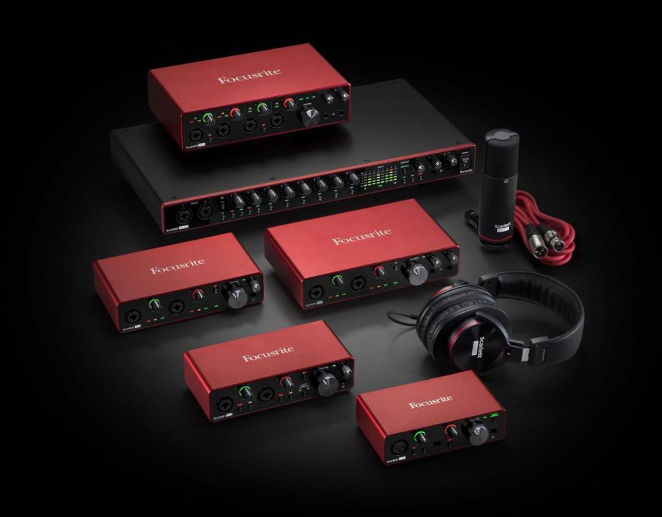 Focusrite-Launch der neuen Scarlett 3rd Gen-Reihe (Audio-Interface)