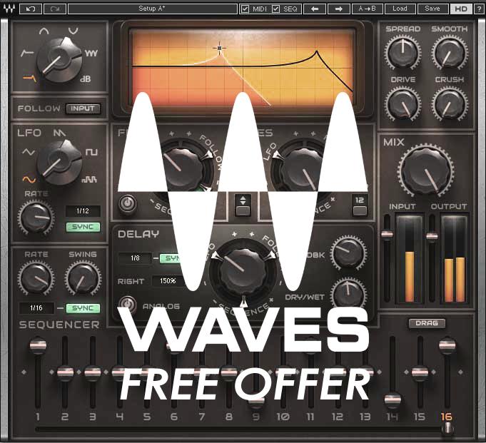 FL Studio User aufgepasst: Waves schenkt allen Besitzern einer FL Studio Lizenz den MetaFilter