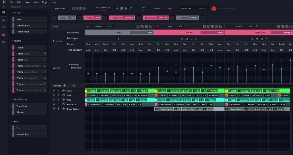 Das Design ist übersichtlich, der Funktionsumfang beachtlich und die Idee kontrovers: Der Computer macht die Musik!