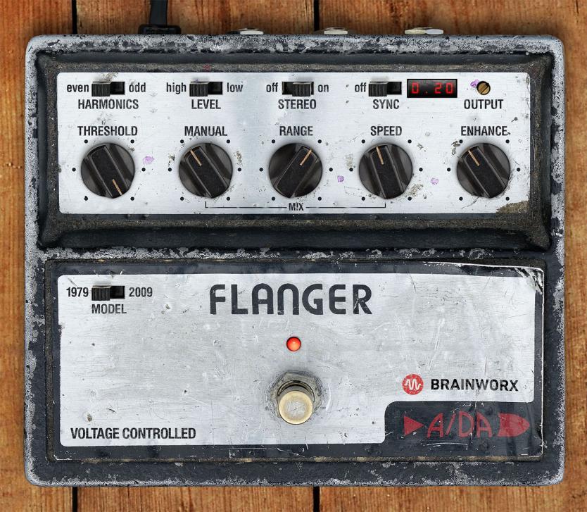 A/DA Flangervon Brainworx - Vintage-Flanger für die DAW