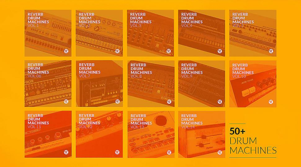 Reverb Drum Machines | The Complete Collection