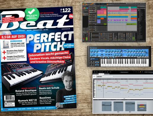 Beat 2/16 mit Bitwig, Vielklang & Bass Station