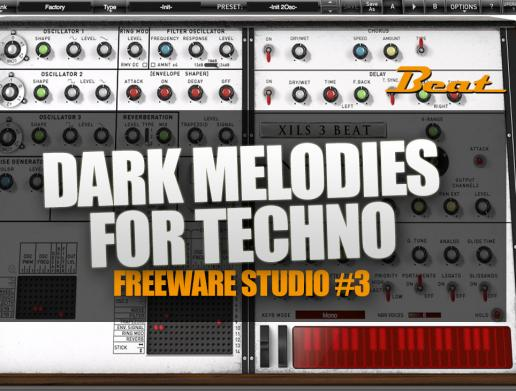 Video-Tutorial: So gelingen düstere Melodien/Atmos für Techno - mit Freeware!