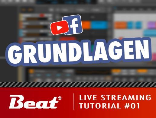 Professionellen Live Stream für Facebook/Youtube einrichten (1/5) - Grundlagen
