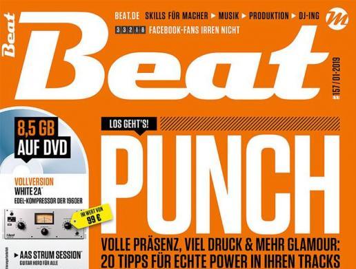 Die neue Beat 01|19 ist da: Punch – Mehr Druck, Volumen und Glamour