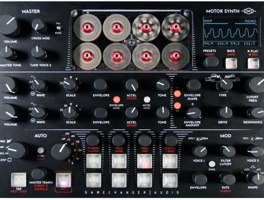 Gamechanger Audio Motor Synth: Innovativer Klangerzeuger mit Motoren