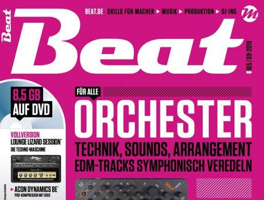 Die neue Beat 09|19 ist da: Orchester – EDM-Tracks symphonisch veredeln