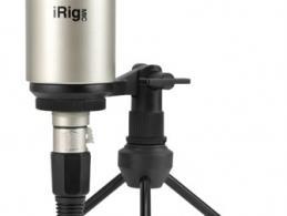 IK Multimedia präsentiert ein Großmembran-Mikrofon im Kleinformat